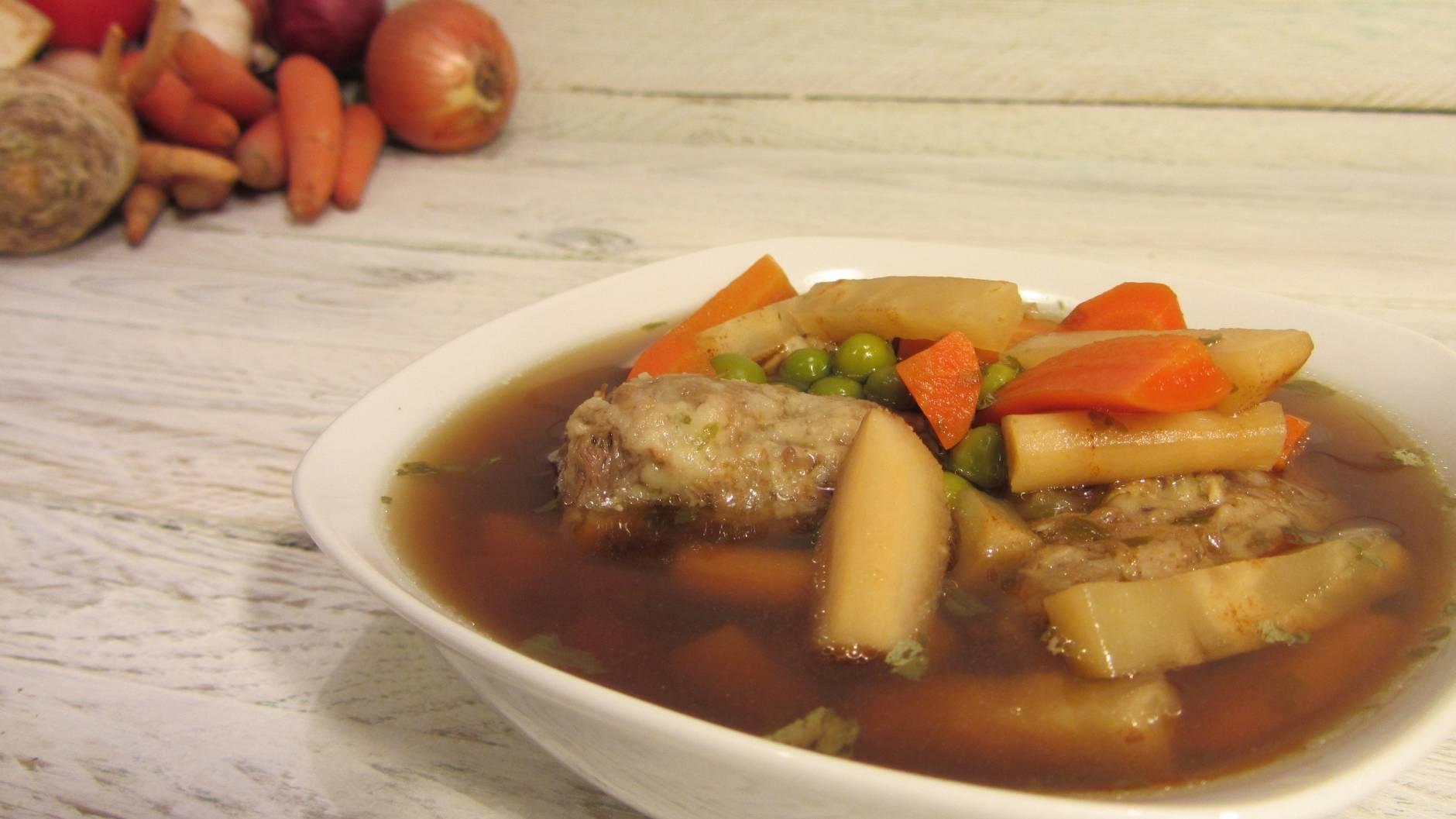 Kacsanyak leves recept főfotó
