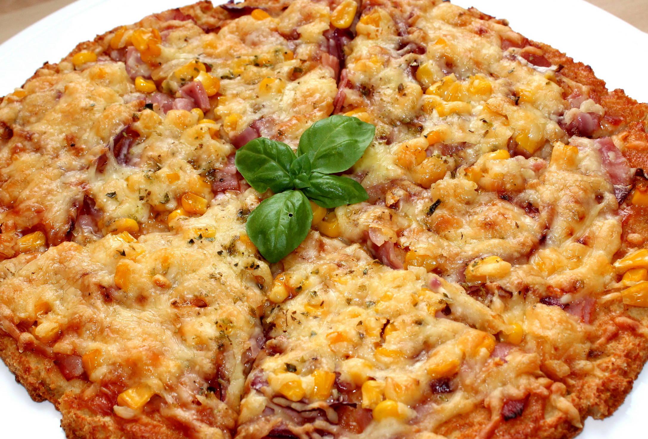 Túró alapú fitt pizza recept főfotó