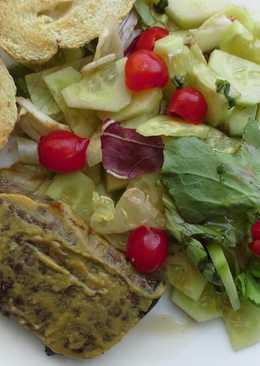 Grillezett hátszín salátával