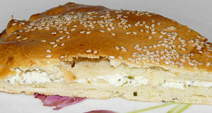 Töltött török lepény recept főfotó