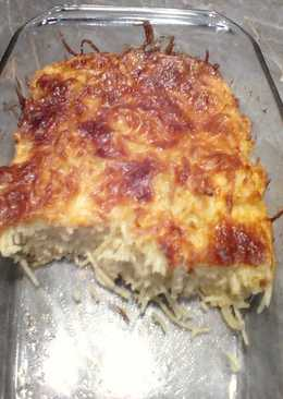 Sajtos spagetti tészta