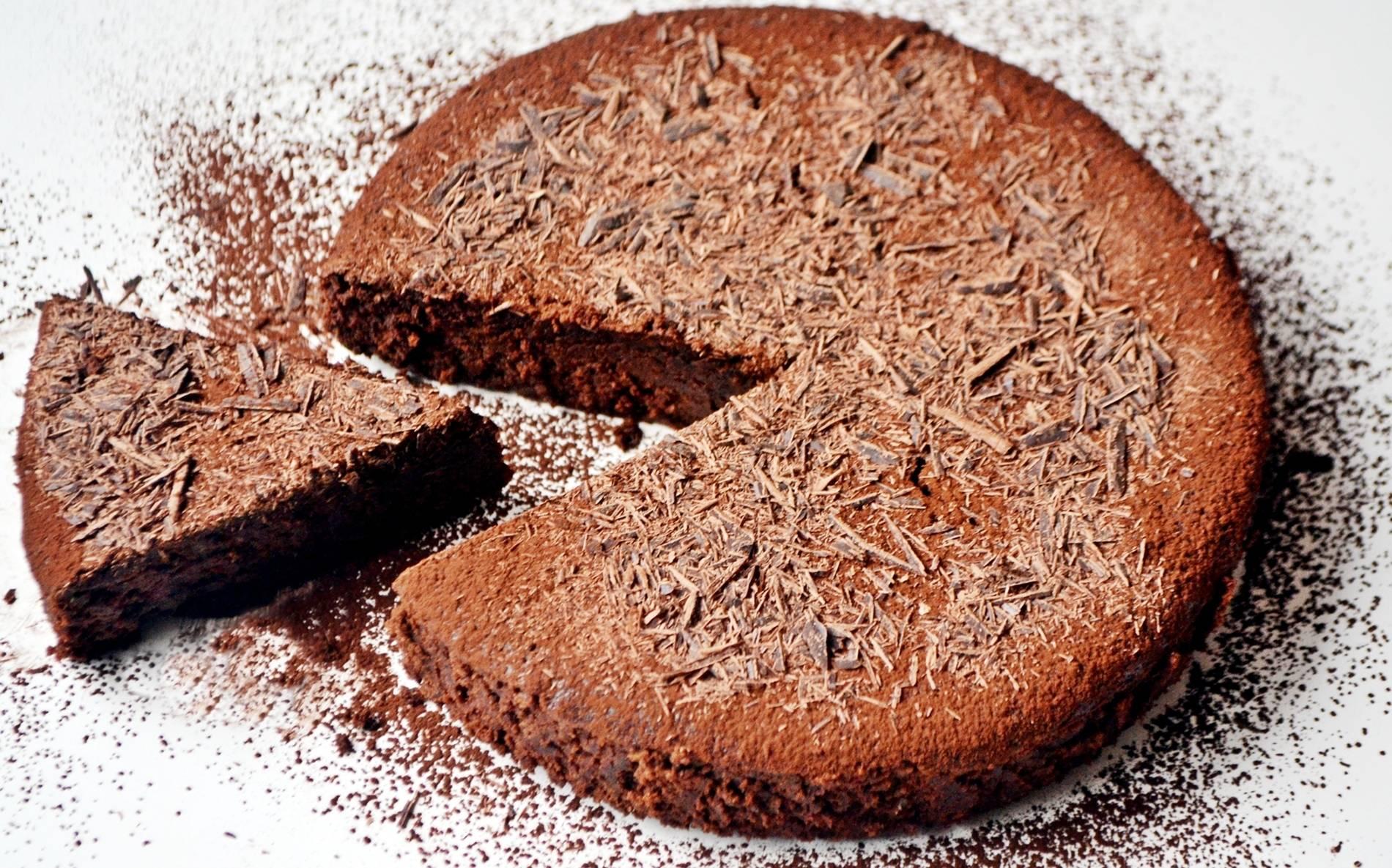 Gluténmentes eszpresszós csokitorta recept főfotó