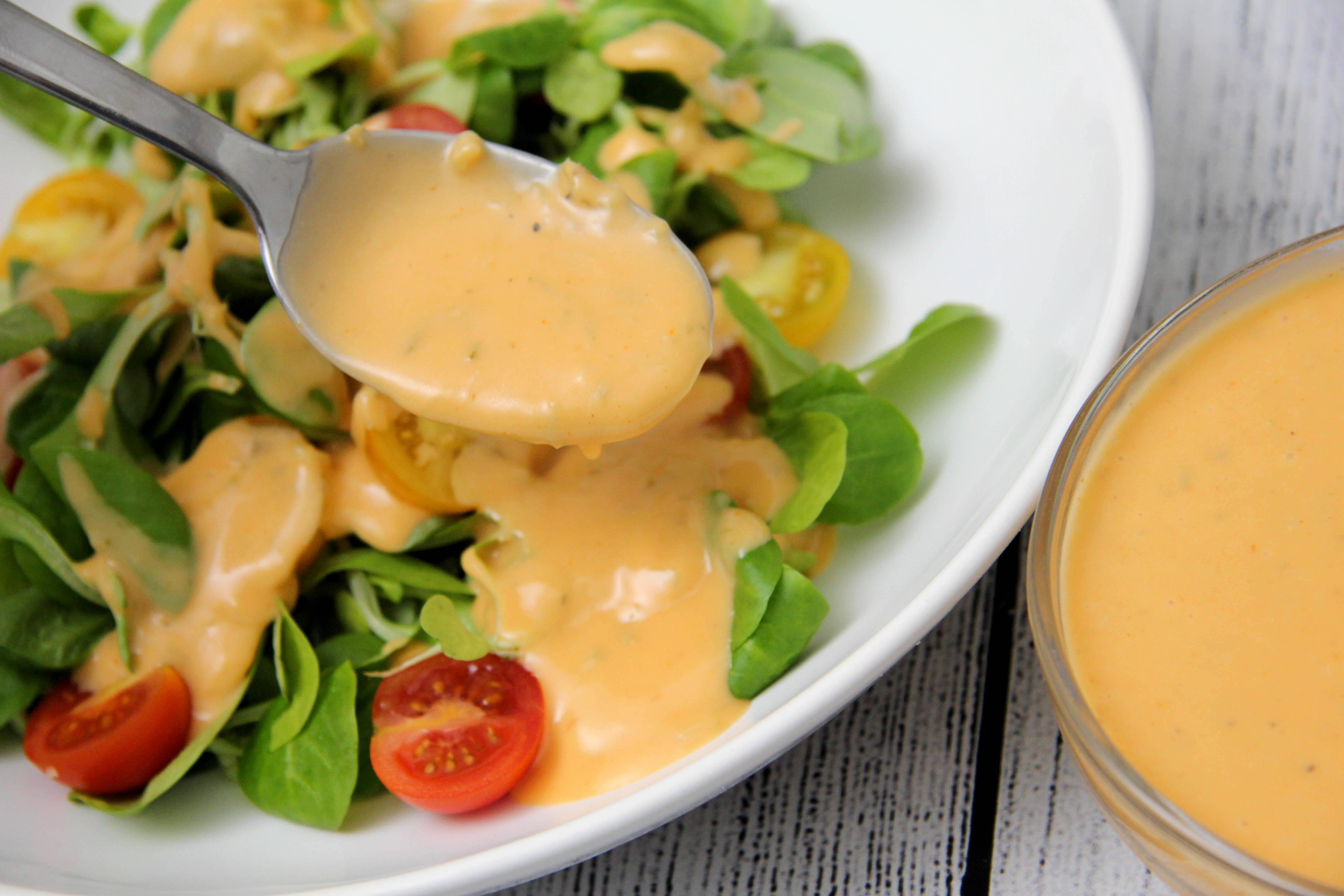 Ezersziget salátaöntet recept főfotó