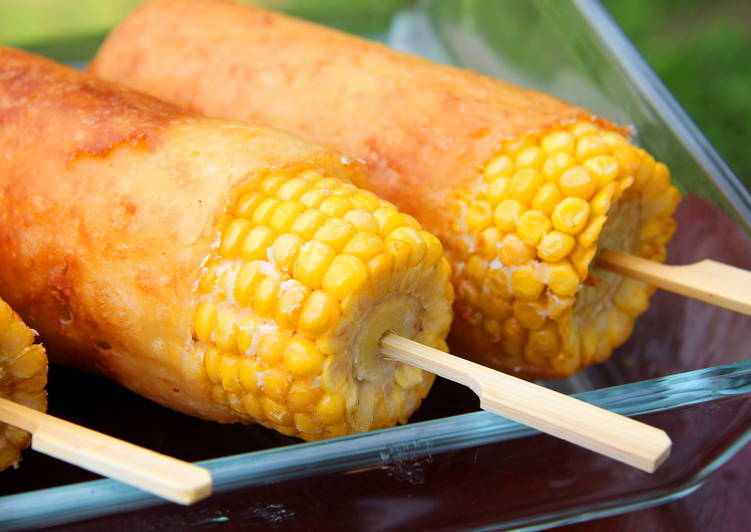 Tésztában sült kukorica