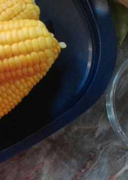Kukorica fűszeres vajjal