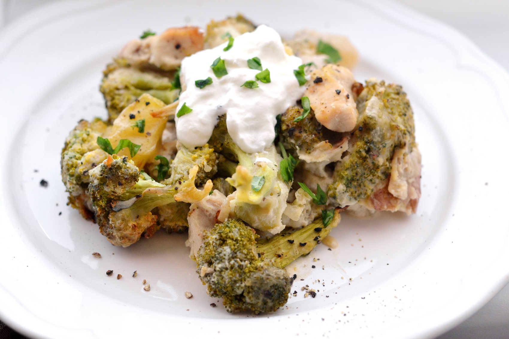 Brokkolis-mascarponés csirke recept főfotó