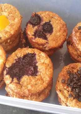 Zabpehely muffin (cukor- és lisztmentes)