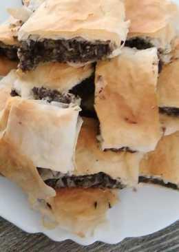 Cukkinis-mákos rétes, egyszerűen, csökkentett kalóriás
