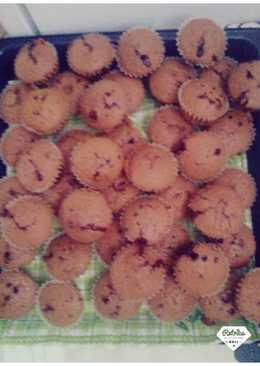 Csokis nutellás muffin