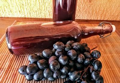 Házi szőlőszörp
