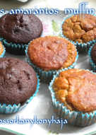 Banános-amarántos muffin (Gluténmentes)