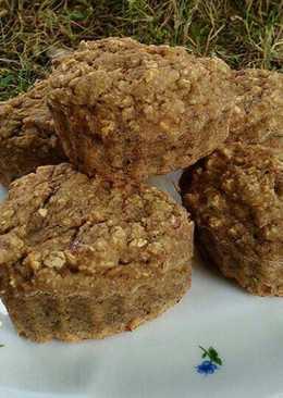 Egészséges banános muffin