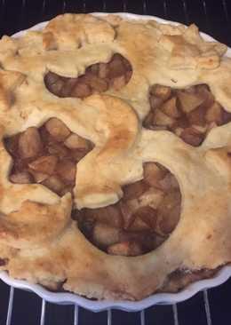 Fűszeres, almás, pudingos pite