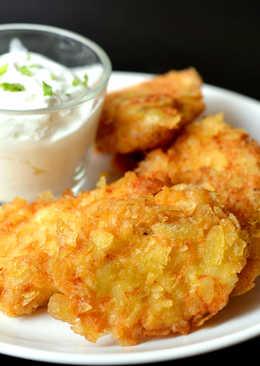 Rántott csirkemell recept burgonyachips bundában