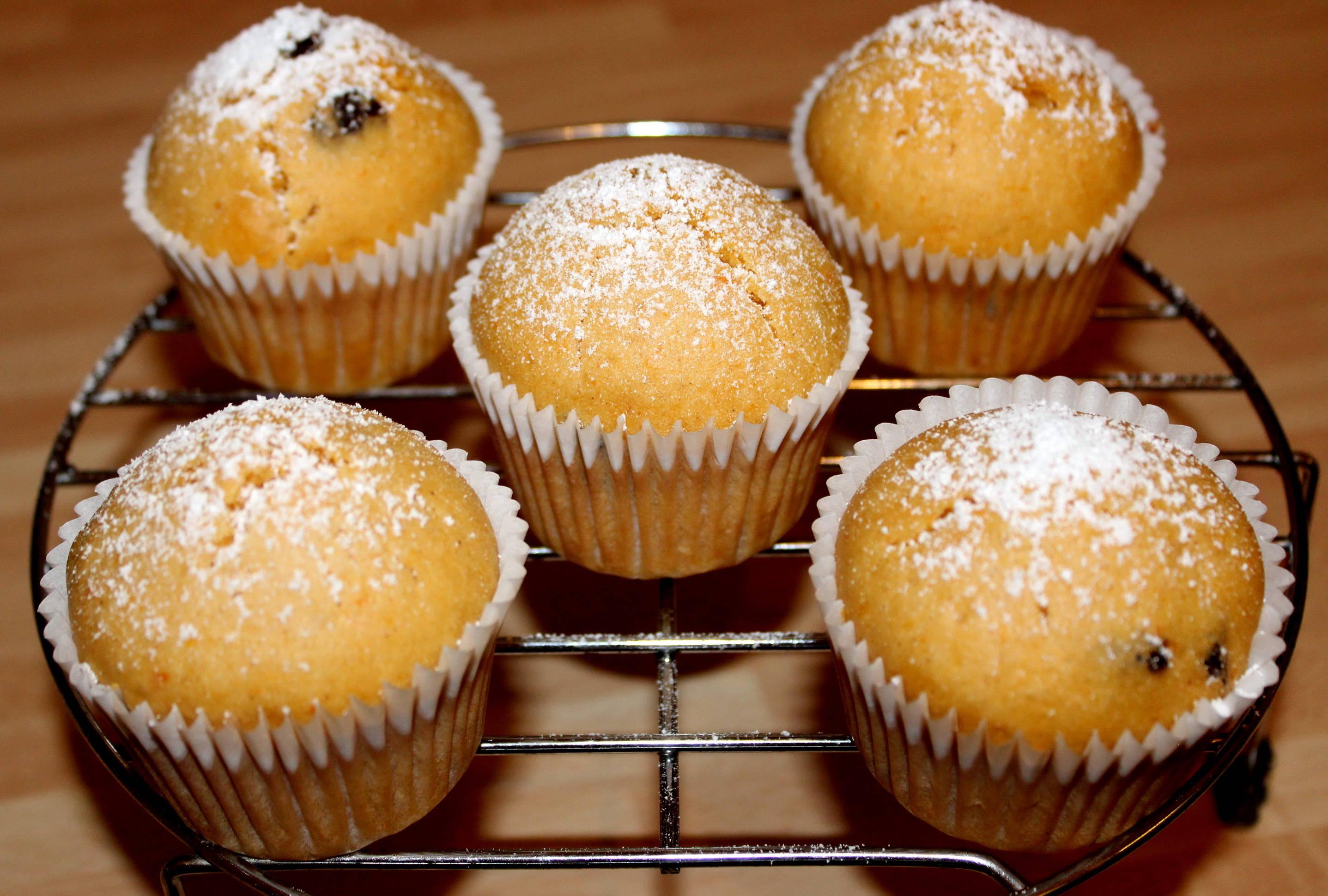 Édesburgonyás muffin recept főfotó