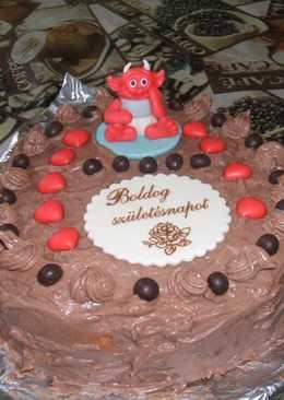 Dupla csokis torta