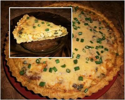 Gyros fűszeres csirkés pite