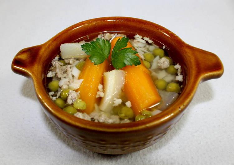 Darálthúsos leves