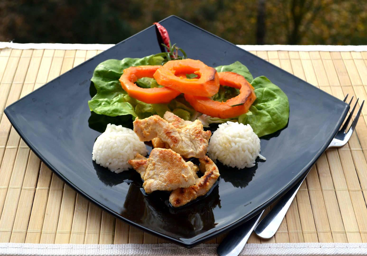 Chilis-rozmaringos sütőtök karikák főfotó