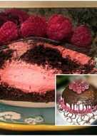 Mokka-Málna torta