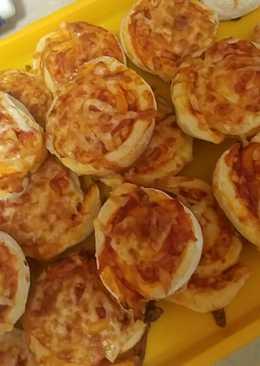 Pizzás csiga (gyors-pihe-puha)
