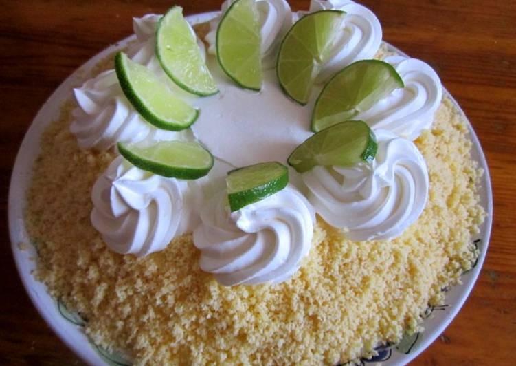 Zöldcitromos pite recept (Key Lime Pie)