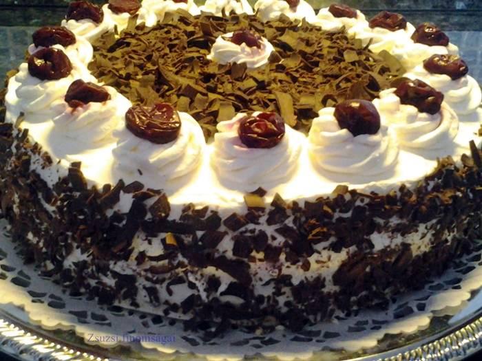 Feketeerdő torta recept főfotó