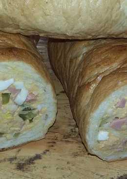 Töltött szendvicskenyér