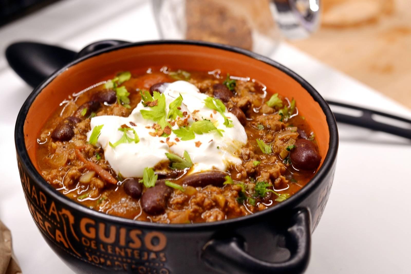 Chili con carne pulykából recept főfotó