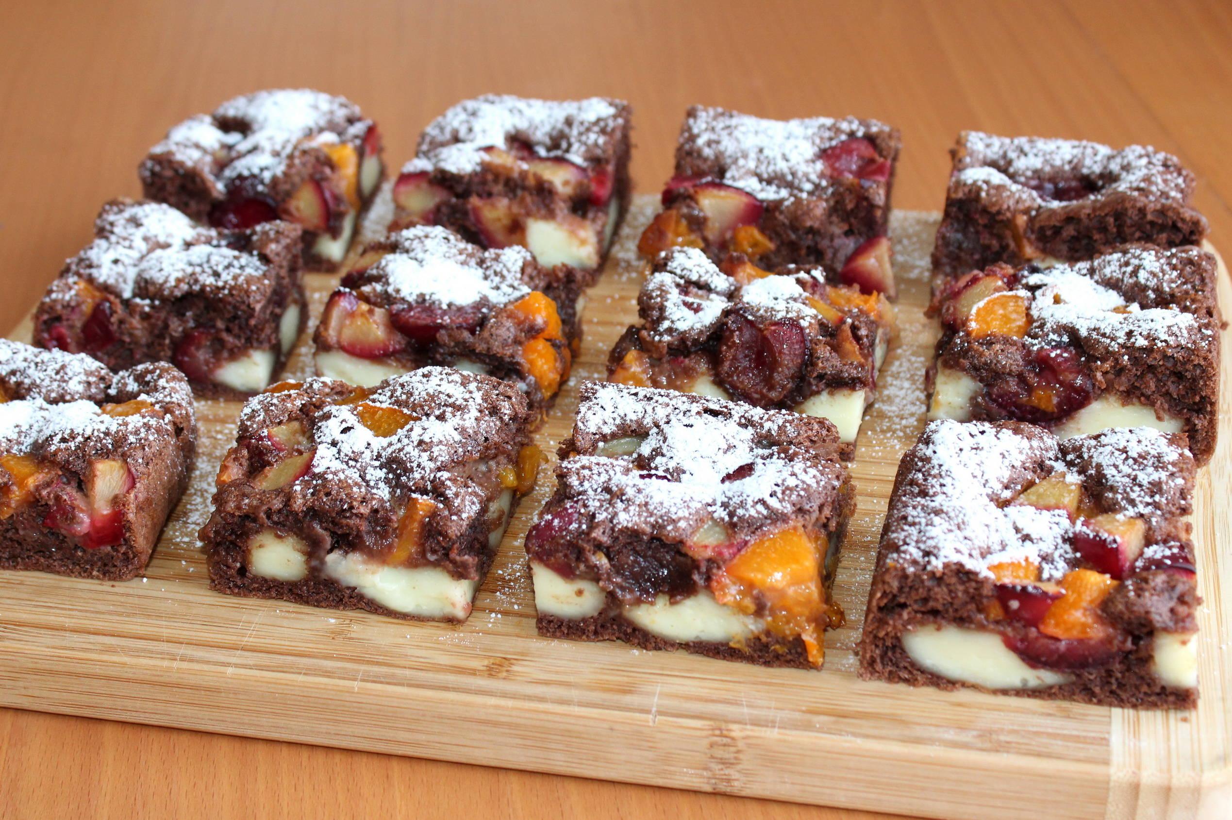 Diétás gyümölcsös-pudingos piskóta recept főfotó