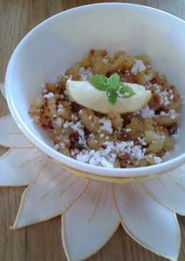 Krumpli smarni (tojásmentes, tejmentes, nagyon olcsó sváb étel)