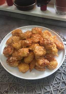 Szezámmagos, kínai csirke