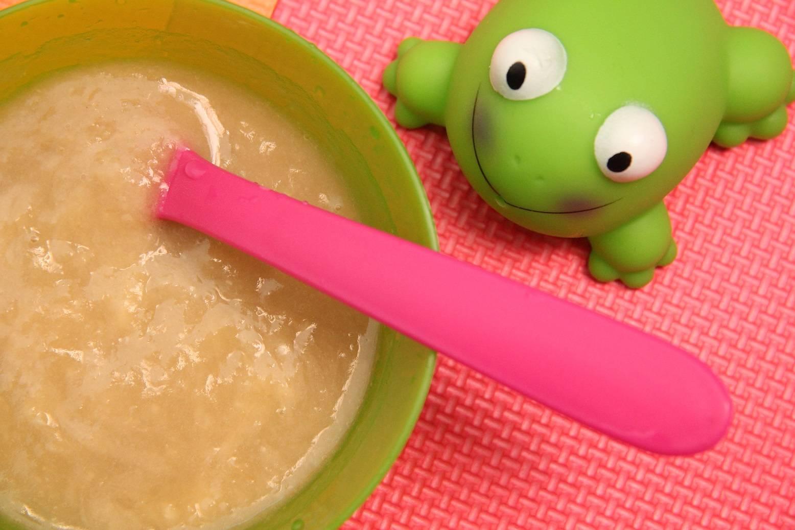Körte-alma-banán püré recept babáknak főfotó