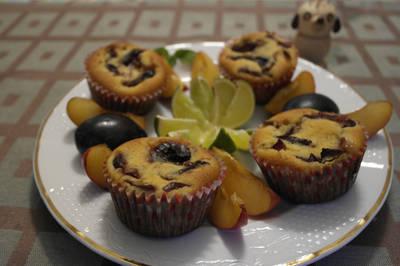 Szilvás bögrés muffin