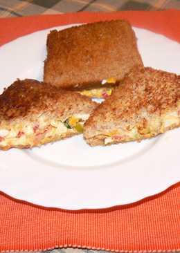 Mexikói vegetáriánus szendvics