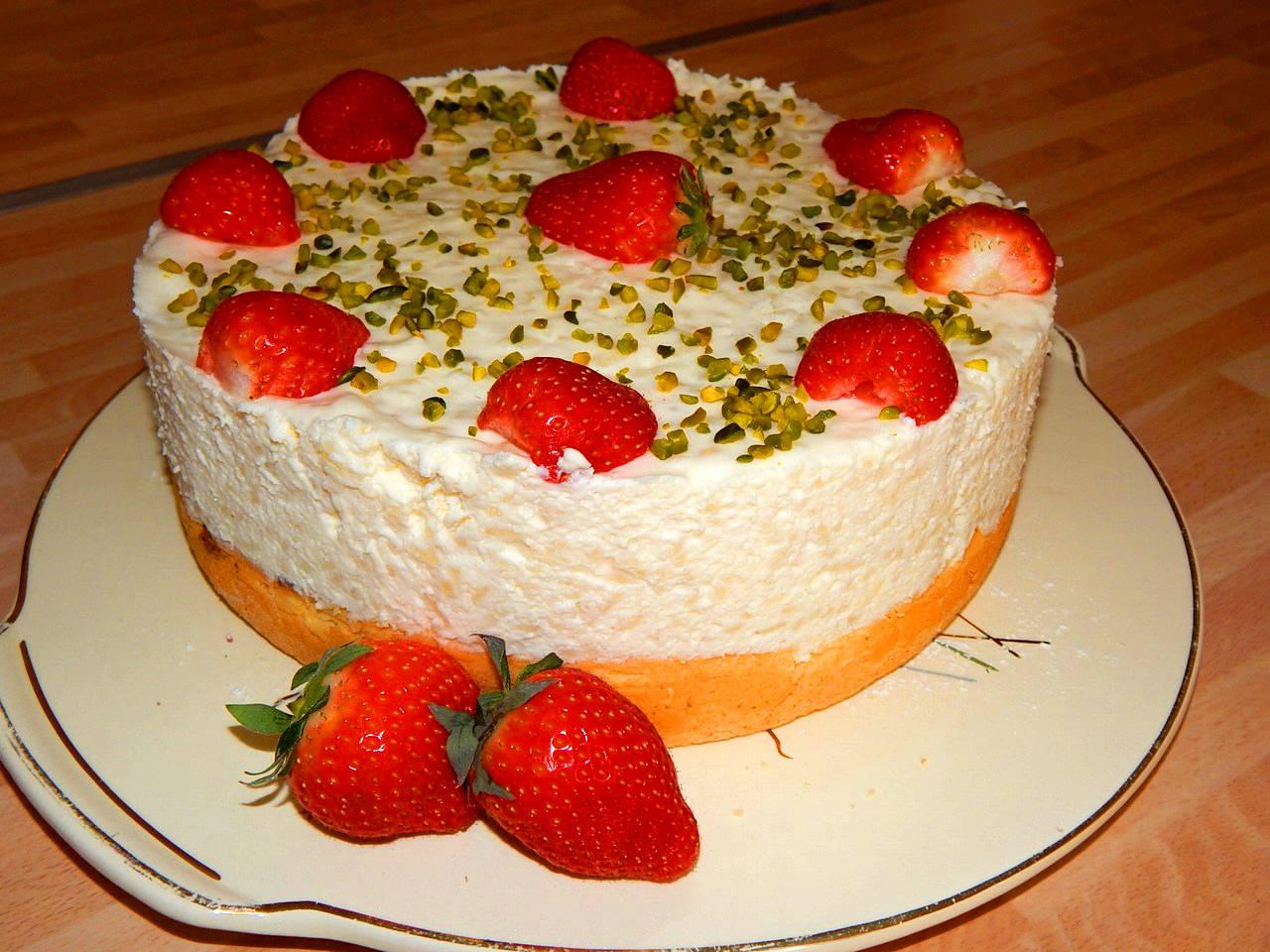 Tejszínes tejberizs torta recept főfotó