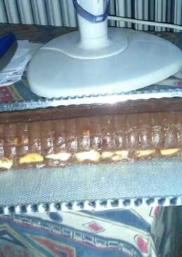 Csokipudingos piskóta őzgerc formában