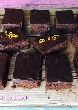 Csokis, gyömbéres, céklás sütemény