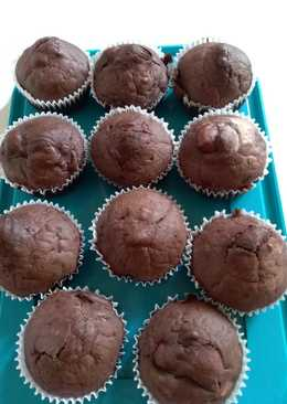 Holland meggyes muffin