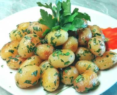 Petrezselymes újkrumpli 🍴