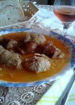 Savanyú káposzta leves, az én konyhámból