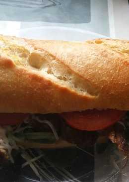 Barna sörös ínyenc pub szendvics