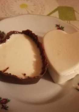 Csoki köpenyes Panna cotta 🐦