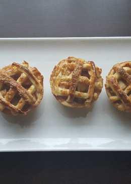 Almás pite muffin (cukormentes)