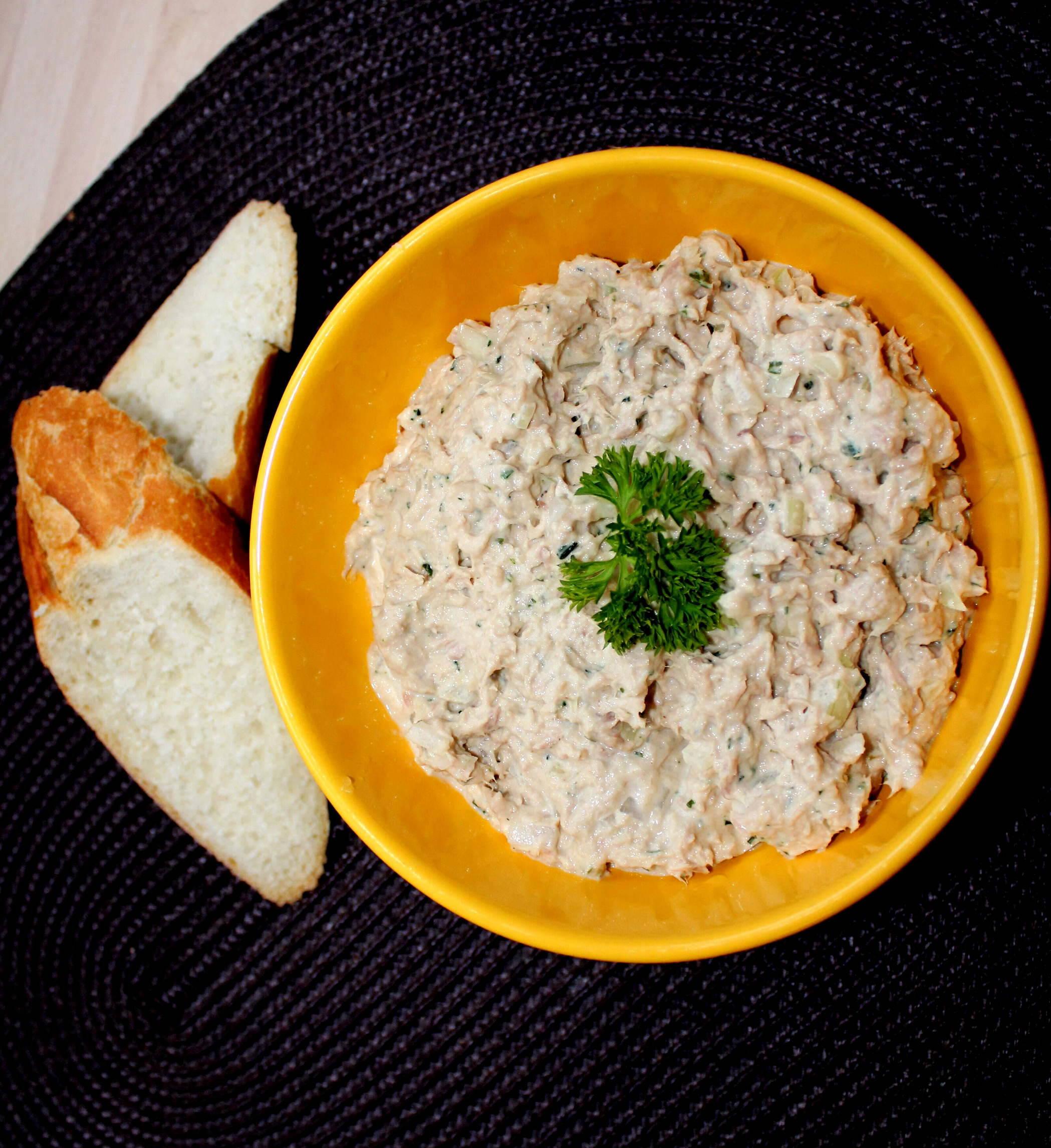 Majonézes tonhalkrém recept főfotó