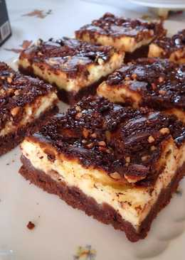 Sajtkrémes csokis pite