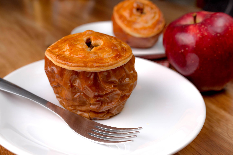 Töltött sült alma recept főfotó