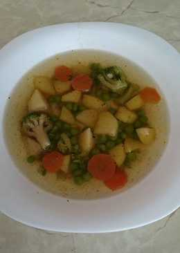 Tavaszi zöldségleves