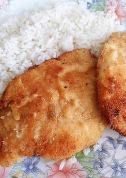 Különleges páccal készített rántott csirkemell