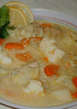 Tárkonyos-karfiolos leves